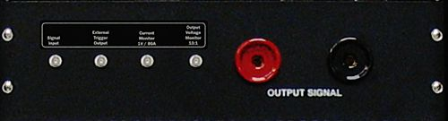 4301 cabinet input/output panel